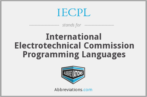 IECPL - International Electrotechnical Commission Programming Languages