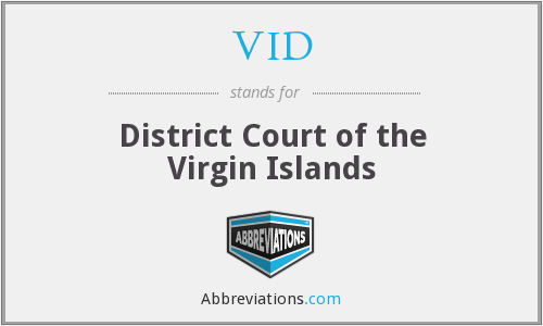 VID - District Court of the Virgin Islands