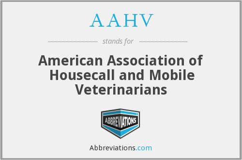 AAHV - American Association of Housecall and Mobile Veterinarians