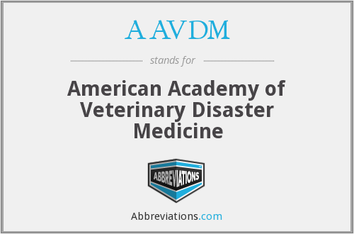 What does AAVDM stand for?