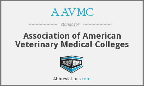 What does AAVMC stand for?