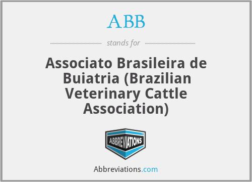 ABB - Associato Brasileira de Buiatria (Brazilian Veterinary Cattle Association)