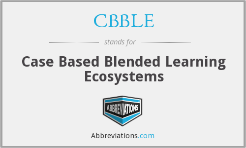 What does CBBLE stand for?