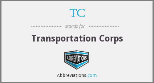 TC - Transportation Corps