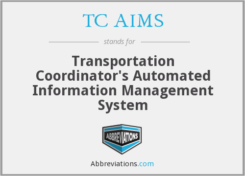 What does TC AIMS stand for?