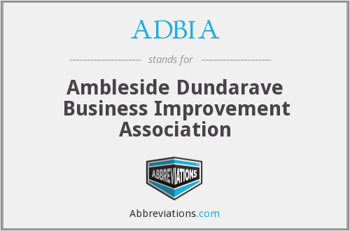 ADBIA - Ambleside Dundarave Business Improvement Association