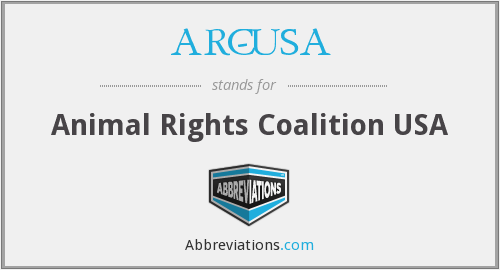 ARC-USA - Animal Rights Coalition USA