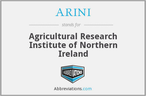 ARINI - Agricultural Research Institute of Northern Ireland