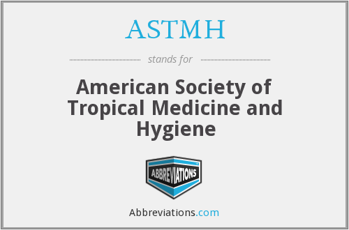 What does ASTMH stand for?