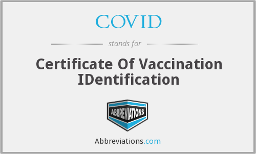 What does COVID stand for?