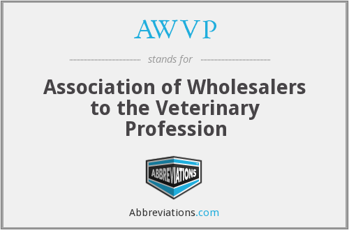 AWVP - Association of Wholesalers to the Veterinary Profession