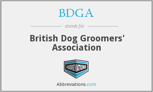 BDGA - British Dog Groomers' Association