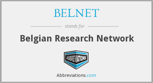 What does BELNET stand for?