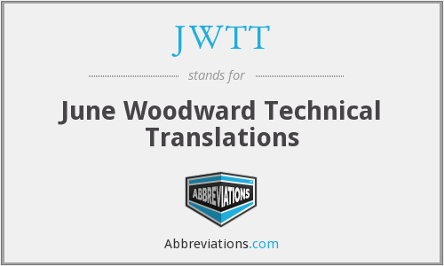 JWTT - June Woodward Technical Translations
