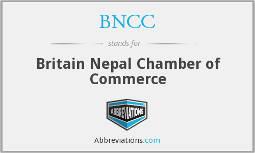 BNCC - Britain Nepal Chamber of Commerce
