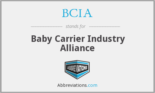 BCIA - Baby Carrier Industry Alliance