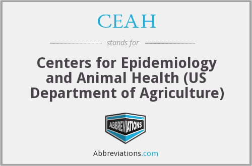 CEAH - Centers for Epidemiology and Animal Health (US Department of Agriculture)