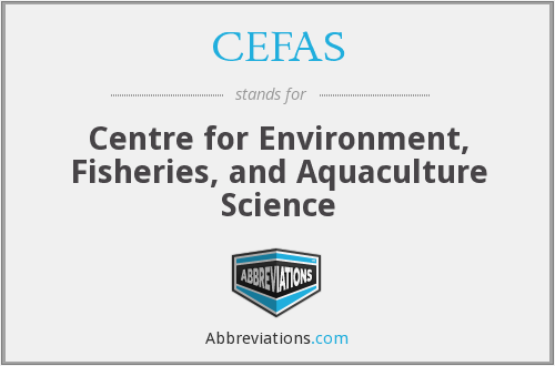 What does CEFAS stand for?