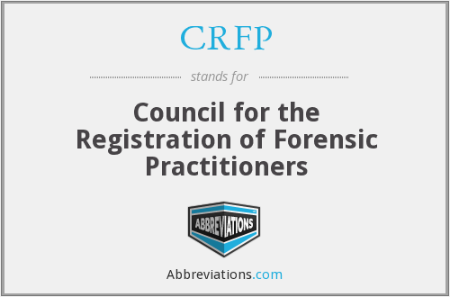 What does CRFP stand for?