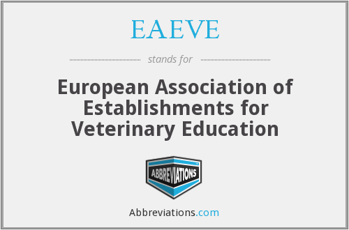 What does EAEVE stand for?