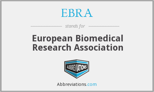 What does EBRA stand for?