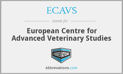 What does ECAVS stand for?