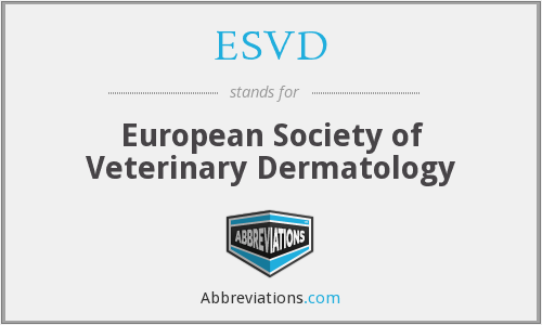What does ESVD stand for?