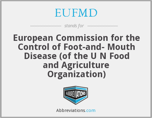 What does EUFMD stand for?