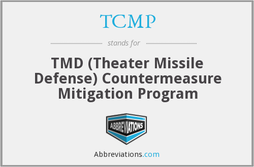 TCMP - TMD (Theater Missile Defense) Countermeasure Mitigation Program