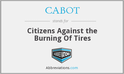 What does CABOT stand for?