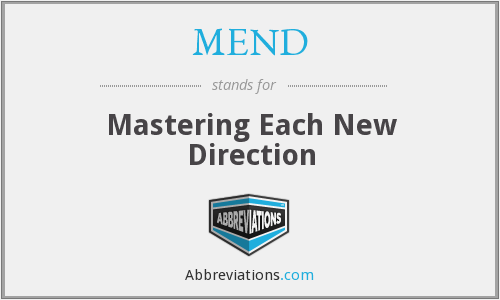 What does MEND stand for?