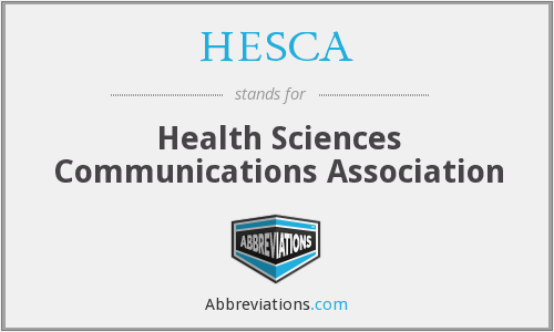 HESCA - Health Sciences Communications Association