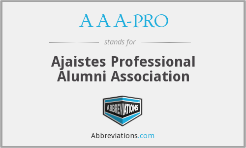 What does AAA-PRO stand for?