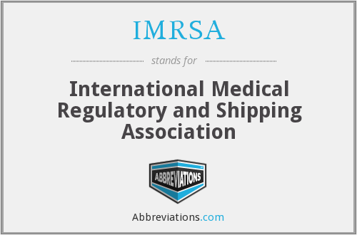 IMRSA - International Medical Regulatory and Shipping Association