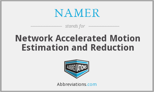 What does NAMER stand for?