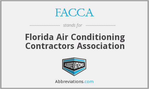FACCA - Florida Air Conditioning Contractors Association