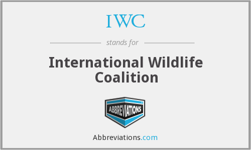 IWC - International Wildlife Coalition