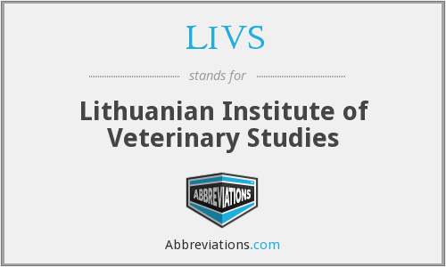 What does LIVS stand for?