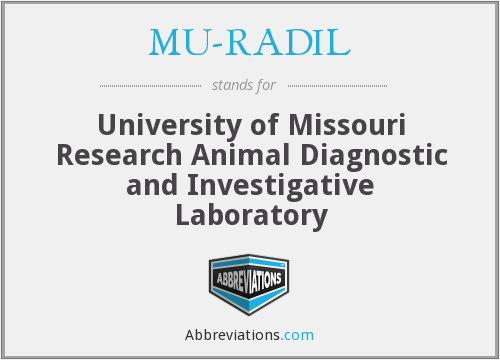 MU-RADIL - University of Missouri Research Animal Diagnostic and Investigative Laboratory