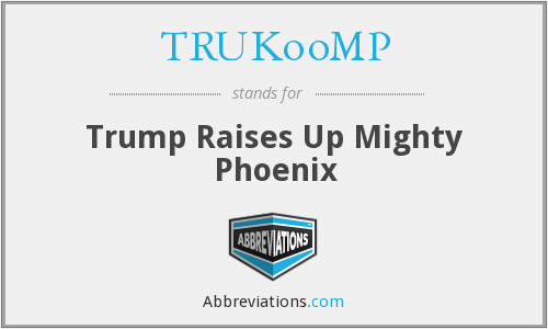What does TRUKOOMP stand for?
