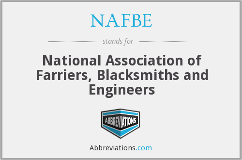 What does NAFBE stand for?