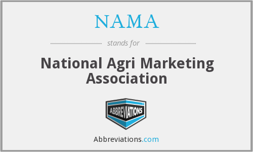 NAMA - National Agri Marketing Association