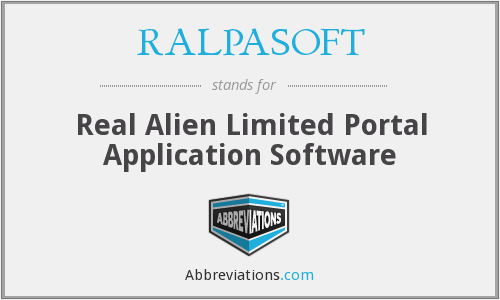 What does RALPASOFT stand for?