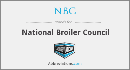 NBC - National Broiler Council