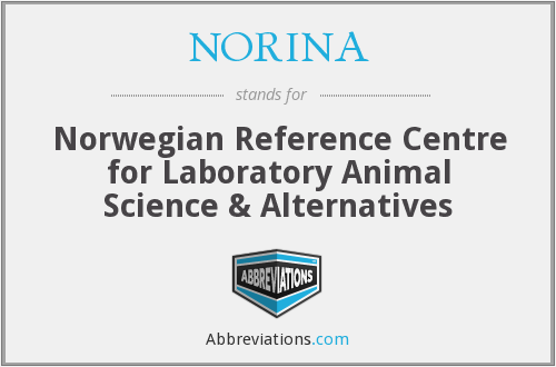 NORINA - Norwegian Reference Centre for Laboratory Animal Science & Alternatives