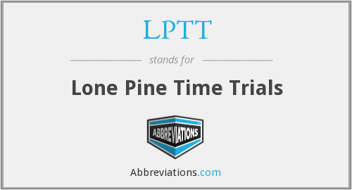 What does LPTT stand for?