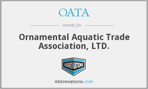 OATA - Ornamental Aquatic Trade Association, LTD.