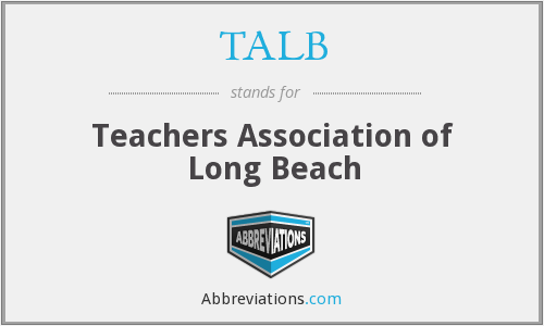 What does TALB stand for?