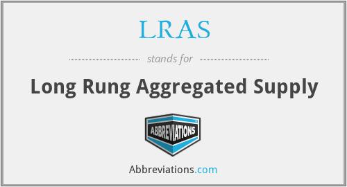 LRAS - Long Rung Aggregated Supply