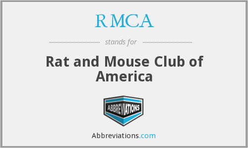 What does RMCA stand for?